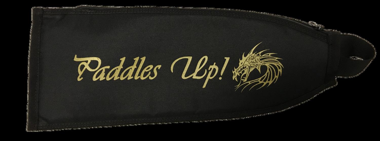 Dragon Boat Paddle Cover Black