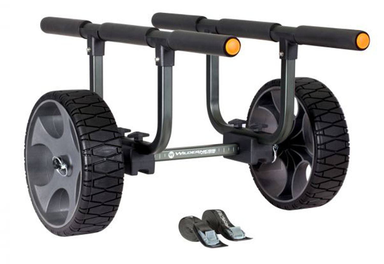 "Heavy Duty Kayak Cart 12"" No Flat Wheels"