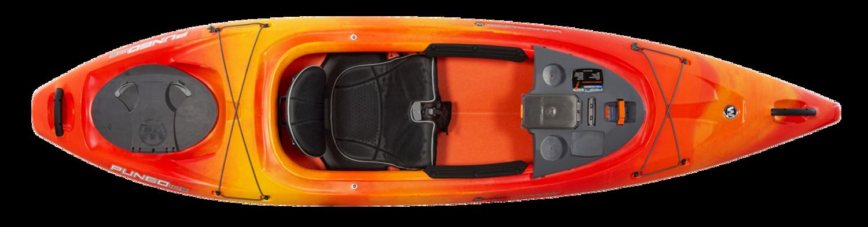 Pungo 105  - Mango - Top | Western Canoe and Kayak