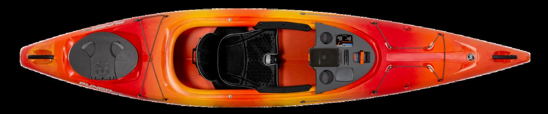 Pungo 120 - Mango - Top | Western Canoe and Kayak