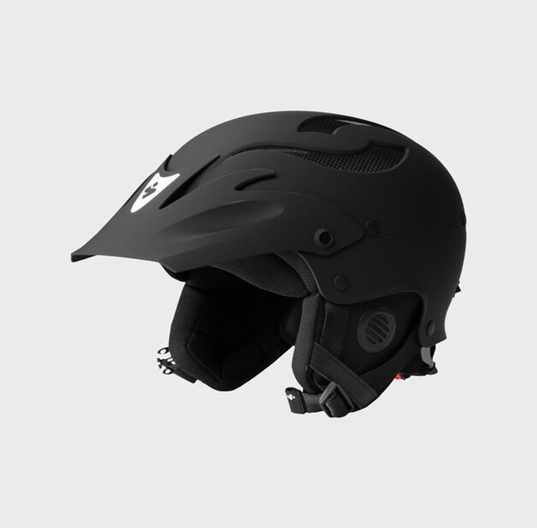 Rocker Helmet  - Dirt Black - Side