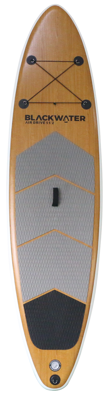 Air Drive Wood 11'2 x 33 - Front | Western Canoe and Kayak