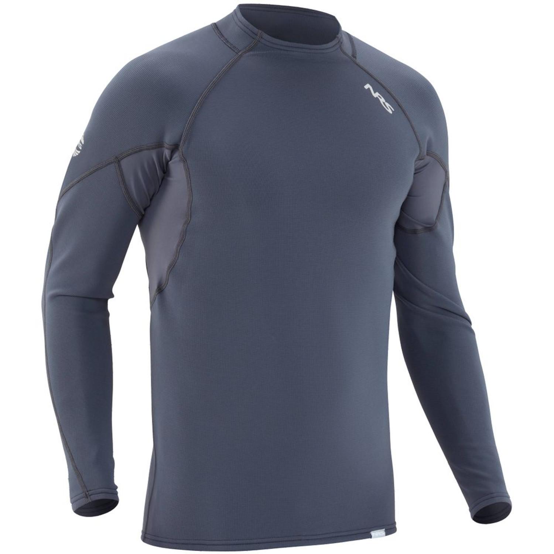 Men's HydroSkin 0.5 Long-Sleeve Shirt - Dark Shadow - Front | Western Canoeing & Kayaking