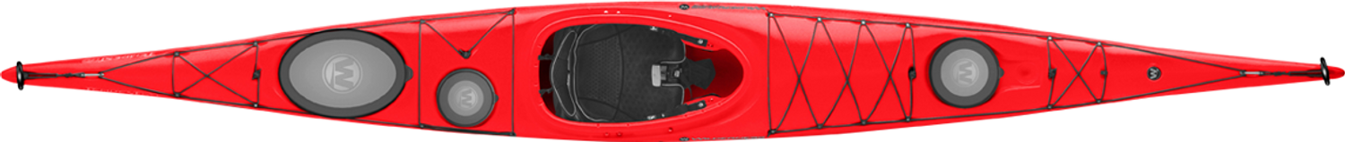 Tempest 170 - Red - Top | Western Canoeing & Kayaking