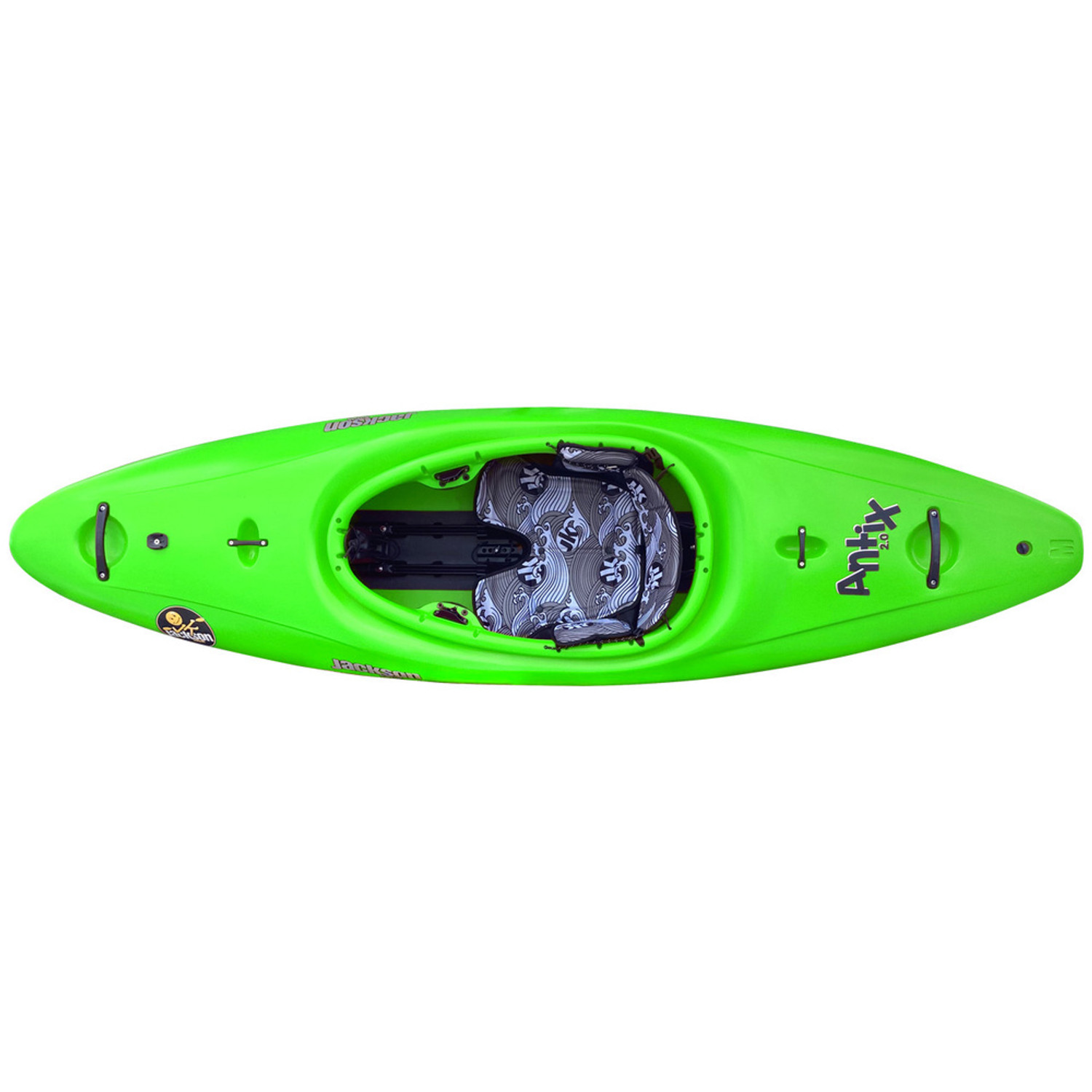 Antix 2.0 - Small - Lime - Top   Western Canoeing & Kayaking
