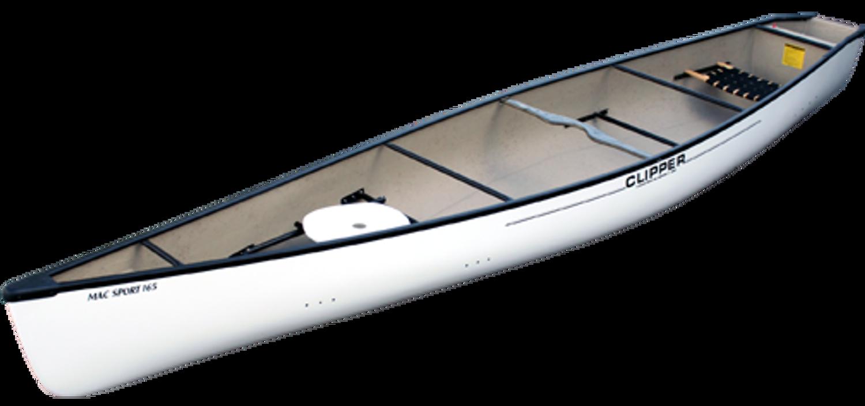 """Fiberglass Mac Sport 16'6"""" Square-Stern"""