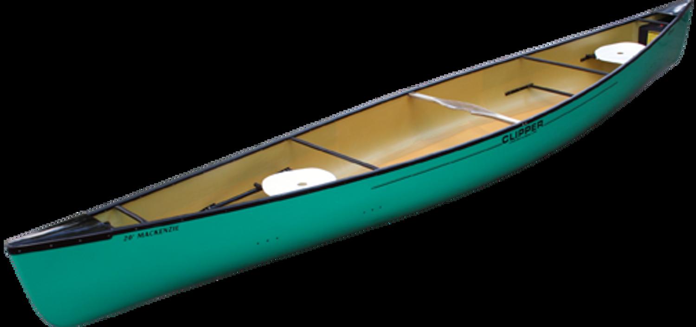 Kevlar Mackenzie 20' in jade gel coat *Special order colour*