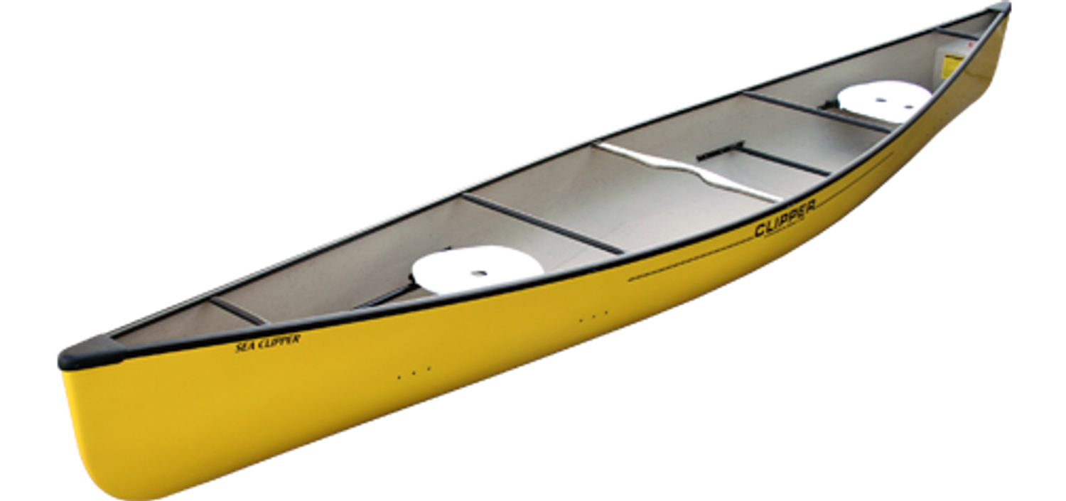 Yellow Fiberglass Sea Clipper