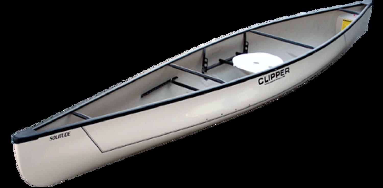 White Fiberglass Clipper Solitude