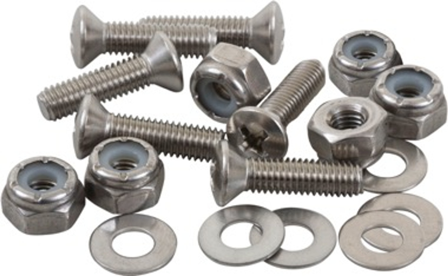 Bolt with Nyloc Nut and Washer