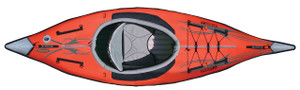 Advanced Frame Inflatable Kayak Top View