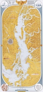 Inside Passage Decorative Map