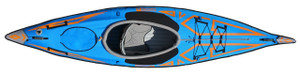 Advanced Frame Expedition Elite Inflatable Kayak - Drop Stitched floor not pictured