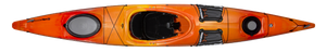 Tsunami 140 w/Rudder - Mango - Top | Western Canoe and Kayak