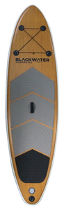 Air Drive Wood 10'2 - Front with Lash - 2021 | Western Canoe and Kayak