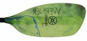 Werner Sherpa Paddle - Topo Eagle Falls
