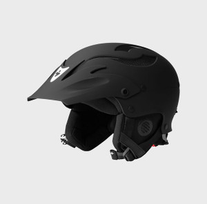 Rocker Helmet  - Dirt Black - Side
