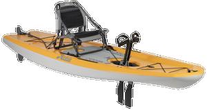 Mirage Lynx 11.0 - Papaya Orange - Angle | Western Canoeing & Kayaking