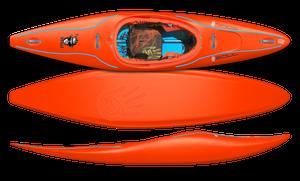 Soul Waterman Funky Monkey Light Sabre Orange | Western Canoe Kayk