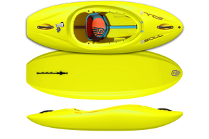 Soul Waterman Mini Me (Kids) - Alien Goo Yellow | Western Canoe and Kayak