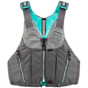Women's Nora PFD - Charcoal - Front | Western Canoeing & Kayaking