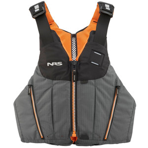 Oso PFD - Charcoal - Front | Western Canoeing & Kayaking