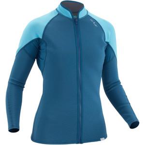 Women's HydroSkin 0.5 Jacket - Poseidon - Front | Western Canoeing & Kayaking