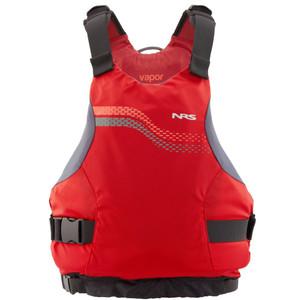 Vapor PFD - Red - Front | Western Canoeing & Kayaking