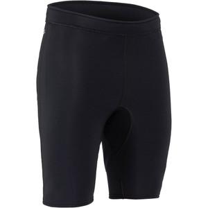 NRS Men's HydroSkin 0.5 Shorts - Black | Western Canoeing & Kayaking