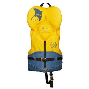 Stingray PFD (Child) 17-27 KG (30-60 lbs) - Yellow - Front
