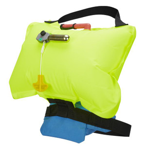 Minimalist Belt Pack PFD - Inflated | Western Canoeing & Kayaking