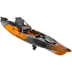 Sportsman BigWater PDL 132 - Ember - Angle - Pedal Drive | Western Canoeing & Kayaking