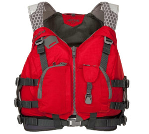 Neptune PFD - Red - Front | Western Canoeing & Kayaking