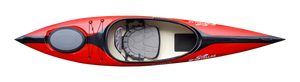 Compass 11 Advantage Recreational - Red - Top | Western Canoeing & Kayaking