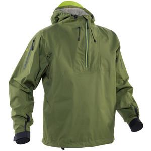 Men's High Tide Splash Jacket - Olive - Front | Western Canoeing & Kayaking