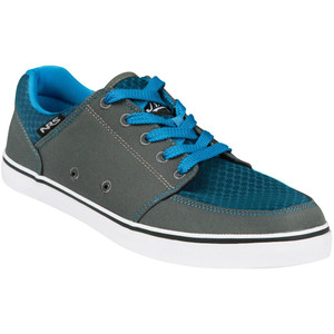 Men's Vibe Water Shoes - Blue/Gray - Angle | Western Canoeing & Kayaking