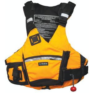 Ronin Pro PFD - Yellow - Front | Western Canoeing & Kayaking