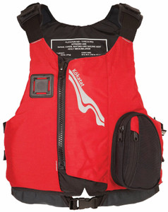 OutFIT PFD - Red - Front | Western Canoeing & Kayaking