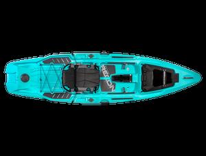 Recon 120 - Aqua - Top | Western Canoeing & Kayaking