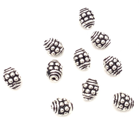 Authentic 7mm Sterling Silver Spacer Beads