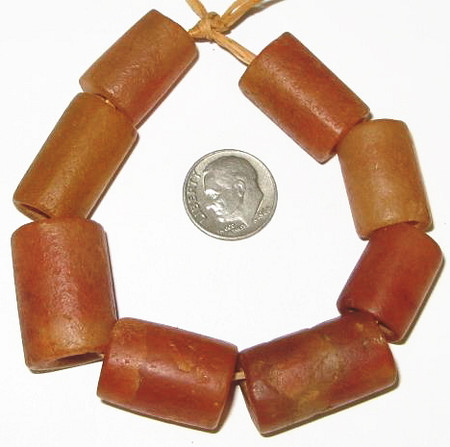 matched excavated carnelian stone from the Djenne area, Mali