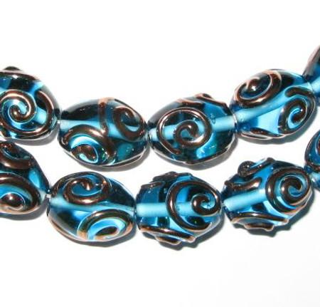 Fine Czech Handmade Glass Lamp beads