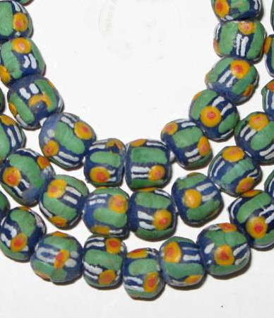 Authentic Handmade African Ghana Krobo beads