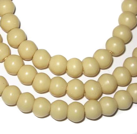 Vintage ivory padre African trade beads