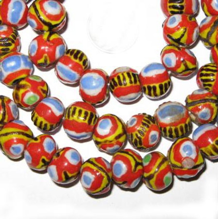 Strand Beautiful Mauritanian Kiffa African trade beads