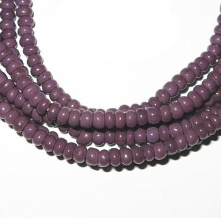 2 Strands matching beautiful Venetian glass trade beads