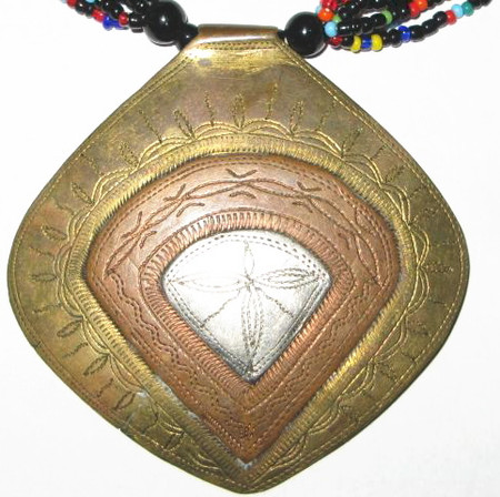 Authentic African Baule Handmade Necklace