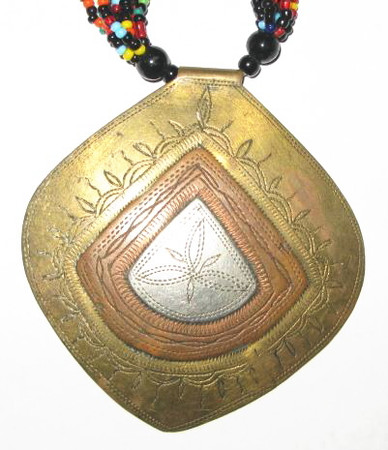 Authentic Handmade West African Necklace