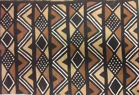 Large Mali mud cloth fabric-3