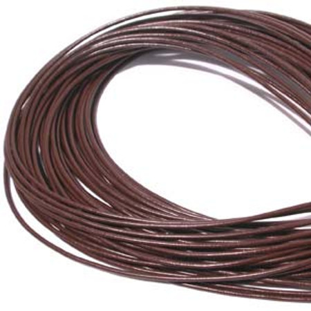 Fine Brown Leather 1mm
